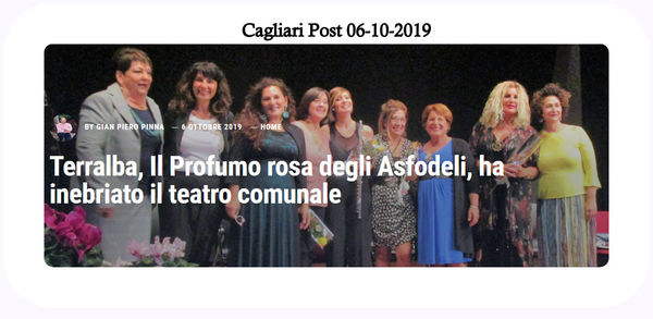 Cover Cagliari Post 06-10-2019