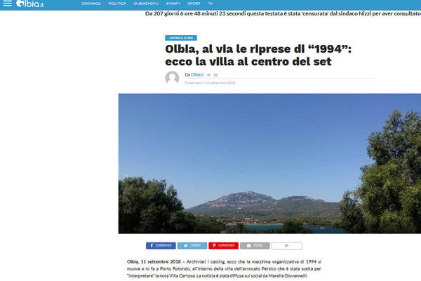 cover olbia.it su accorsi da persio