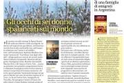"""Gli occhi di sei donne spalancati sul mondo, recensione de """"Il profumo rosa degli asfodeli"""" su L'Unione Sarda"""